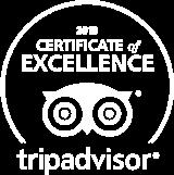 ONAR Tripadvisor Certificate of Excellence 2018